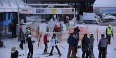 Viele Skifahrer am Semmering, Lage noch unter Kontrolle