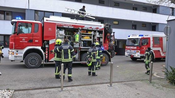 Die Feuerwehr im Einsatz. Symbolbild