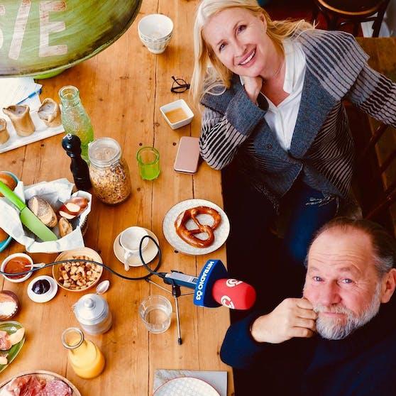 Claudia Stöckl und Uli Brée
