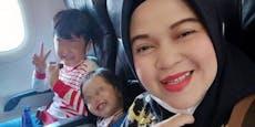 Mutter postet vor Abflug Selfie aus Unglücks-Flieger