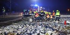 19-Jährige flog mit Renault 115 Meter durch die Luft