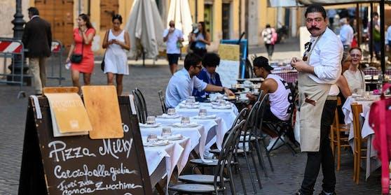 Ab Montag dürfen Restaurants in großen Teilen Italiens wieder öffnen.