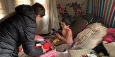 10-jährige Johanna schenkt Rumänin (6) neue Schultasche