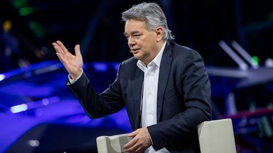 Sportminister Werner Kogler bei ServusTV
