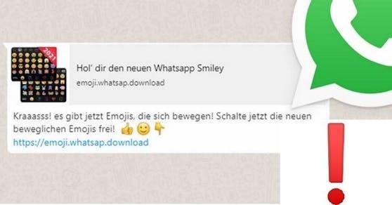 WhatsApp Fake-Nachricht