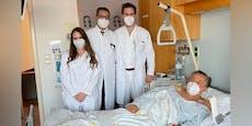 Richard Lugner darf Spital wieder verlassen