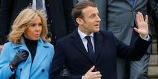 Blumen um 599.000 Euro für Macron