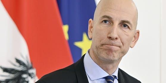 Arbeitsminister Martin Kocher