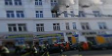 Jugendlicher wurde bei Brand über Fenster gerettet