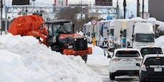 Heftige Schneefälle in Japan fordern mehrere Tote