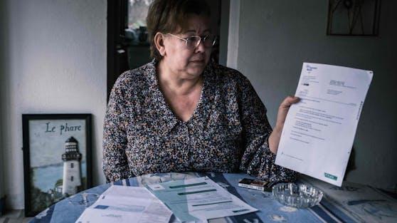 Jeanne Pouchain kämpft vor Gericht dafür, für lebendig erklärt zu werden.