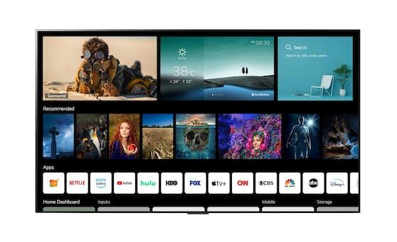 Noch mehr herausragende Inhalte für Smart-TVs mit webOS.