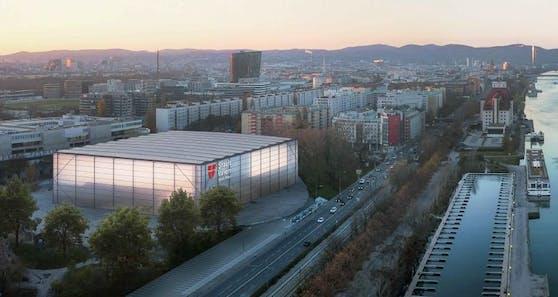 Noch heuer wird das alte Dusika-Stadion abgerissen, Ende des Jahres soll mit dem Bau der neuen Sport- und Veranstaltungshalle begonnen werden.