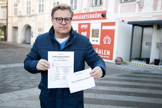 Neos-Spitzenkandidat Niko Formanek