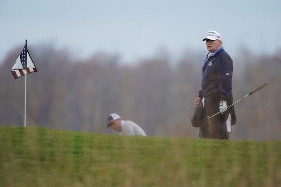 Donald Trump ist begeisterter Golfer.