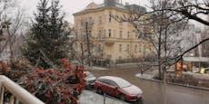 Schnee-Videos: So wird Wien jetzt weiß