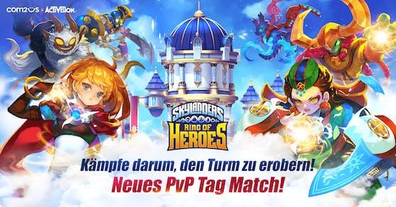 "Com2uS veröffentlicht neues Kampfsystem für ""Skylanders Ring of Heroes""."