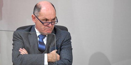 Nationalratspräsident Wolfgang Sobotka (ÖVP) in der Vorweihnachtszeit