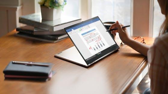 Das X1 Titanium Yoga ist das dünnste ThinkPad aller Zeiten.