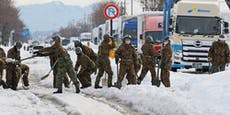 16 Tote wegen heftiger Schneefälle in Japan