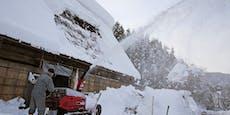 So kommt der Schnee jetzt zurück nach Österreich