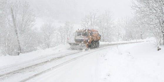 Der Schnee kehrt nach Österreich zurück.