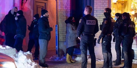 In Quebec halten sich nicht alle an die Ausgangssperre. (Symbolbild)