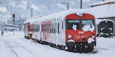 Zug rammt Lkw in Kärnten -39-Jähriger verletzt
