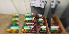 Ernsthaft? Wiener Supermarkt verkauft schon Ostereier