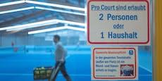 Hoffnung für Tennisspieler: Hallen könnten bald öffnen