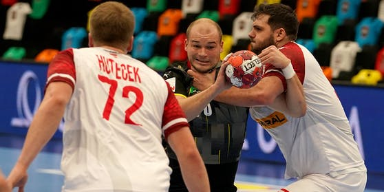 Österreichs Handball-Herren sind bei der WM gefordert.