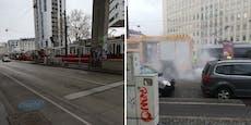 Wiener Bim-Fahrer baute Unfall, musste zum Alkohol-Test