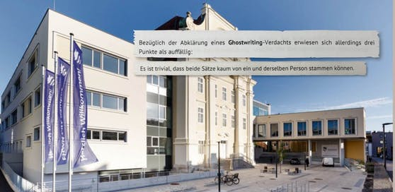 FH Wr. Neustadt: Nächster Schwindel durch Ghostwriting?