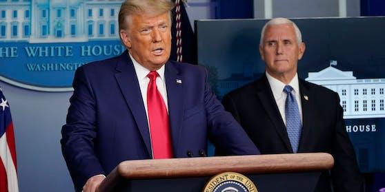 US-Präsident Donald Trump und Vizepräsident Mike Pence