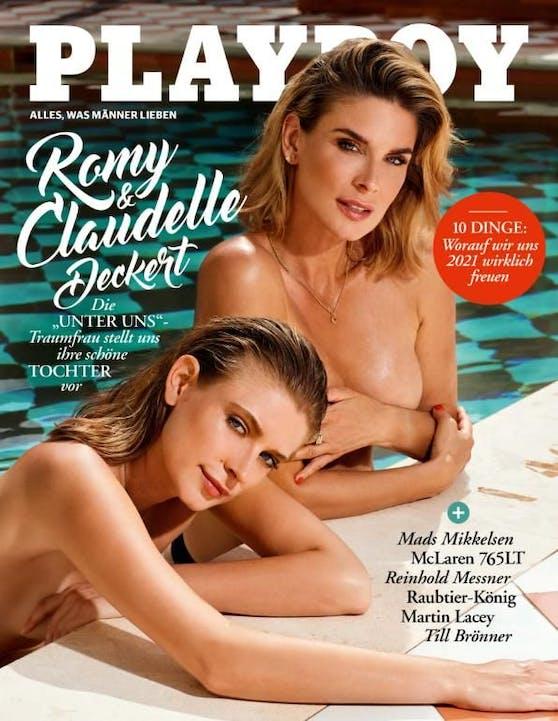 Claudelle Deckert und Tochter Romy