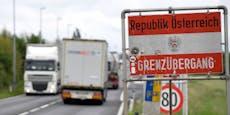 Österreich schließt wegen Corona 45 Grenzübergänge