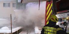 75 Mann bekämpfen Großbrand in steirischer Villa