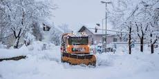 Warnstufe Violett! Bis zu 1 Meter Schnee in Österreich