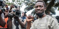 Popstar fordert Ugandas Präsident heraus