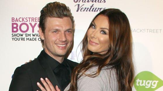 Musiker Nick Carter und seine Frau Lauren werden unerwartet zum dritten Mal Eltern.