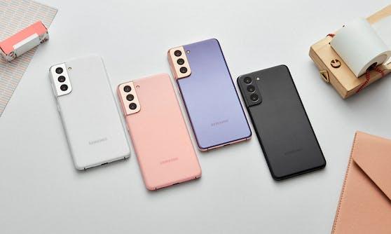 Bei der Aktion mit dabei: Das Samsung Galaxy S21.