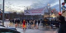 Sesseldemo in Wien sorgte fürÄrger im Frühverkehr
