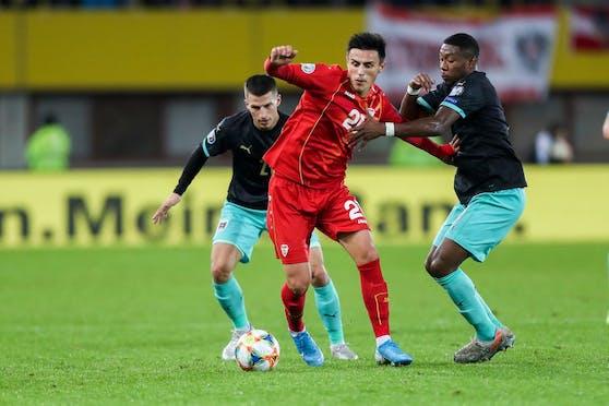 David Alaba gegen Nord-Mazedonien