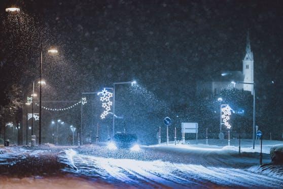 Schnee Kaprun 13.01.21