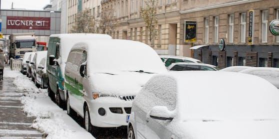 Schnee in Wien (Archivfoto)