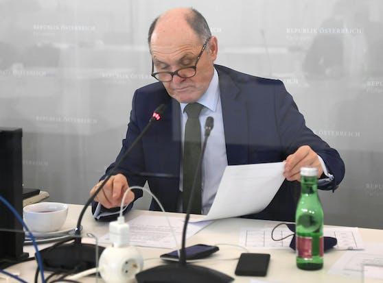 Der Vorsitzende des Ibiza-Untersuchungsausschusses Wolfgang Sobotka