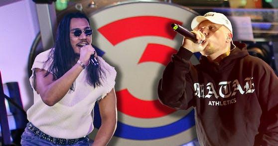 Apache207 und Bonez MC toppen die Charts.