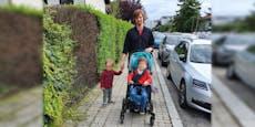 Familie mit krankem Kind soll fürs Wenden 720 € zahlen