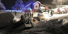 Bei Schneeräumung verunfallte Lenker (28) schwer