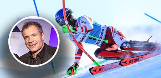 Armin Assinger will Marco Schwarz auf der Abfahrt sehen.